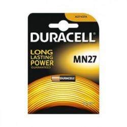 Blister 1 pile security MN27 de marque DURACELL, référence: B4348400