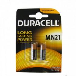 Blister 2 piles Security MN21 - 3LR50 de marque DURACELL, référence: B4350400