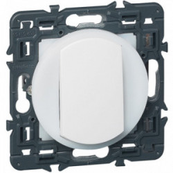 Celiane interrupteur couronne lumineuse blanc de marque LEGRAND, référence: B4350600