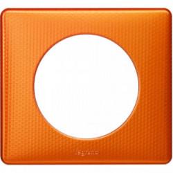 Celiane plaque 1 poste orange snake de marque LEGRAND, référence: B4351200