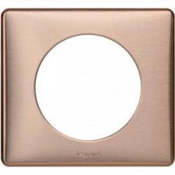 Celiane plaque 1 poste copper cuivre de marque LEGRAND, référence: B4351300