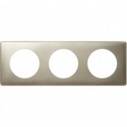 Celiane plaque 3 postes titane de marque LEGRAND, référence: B4357600