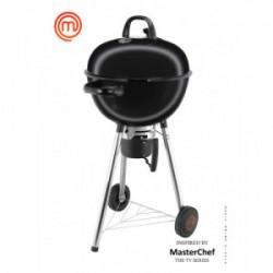 Barbecue charbon Premium 57 cm de marque MasterChef, référence: J4394800