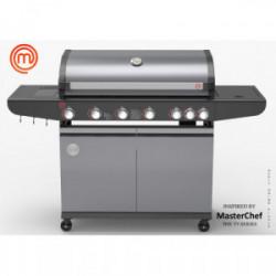 Barbecue à gaz 6 brûleurs de marque MasterChef, référence: J4395200
