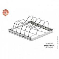 Support de cuisson cotes de marque MasterChef, référence: J4396700