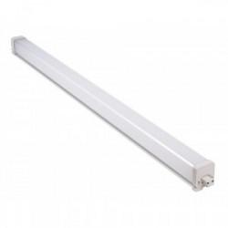 Réglette LED carrée connectable 18W - 1,20M -1500Lm - 4000K - IP54 de marque FOX LIGHT, référence: B4400000