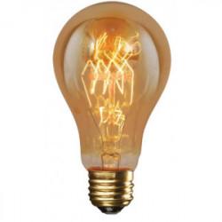 Ampoule décorative A60  F1-23 40W  E27 de marque FOX LIGHT, référence: B4402900
