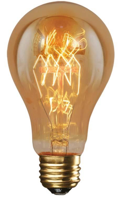 Ampoule décorative A60 F1-23 40W E27