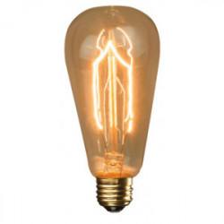 Ampoule décorative ST64  F3-9 40W  E27 de marque FOX LIGHT, référence: B4403000