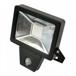 Projecteur plat à détection infra-rouge 20W - 1400 Lm - 6500K - IP65/IP44 de marque FOX LIGHT, référence: B4407800