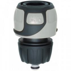 Raccord rapide Soft Touch Aquastop tuyau Ø 12 à 15 mm - Gris de marque GF, référence: J4409100