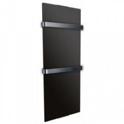 Radiateur seche serviette décoratif design Noir 1200W de marque CHEMIN'ARTE, référence: B4424500