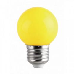 Ampoule LED 1W E27 couleur Jaune de marque FOX LIGHT, référence: J4435700