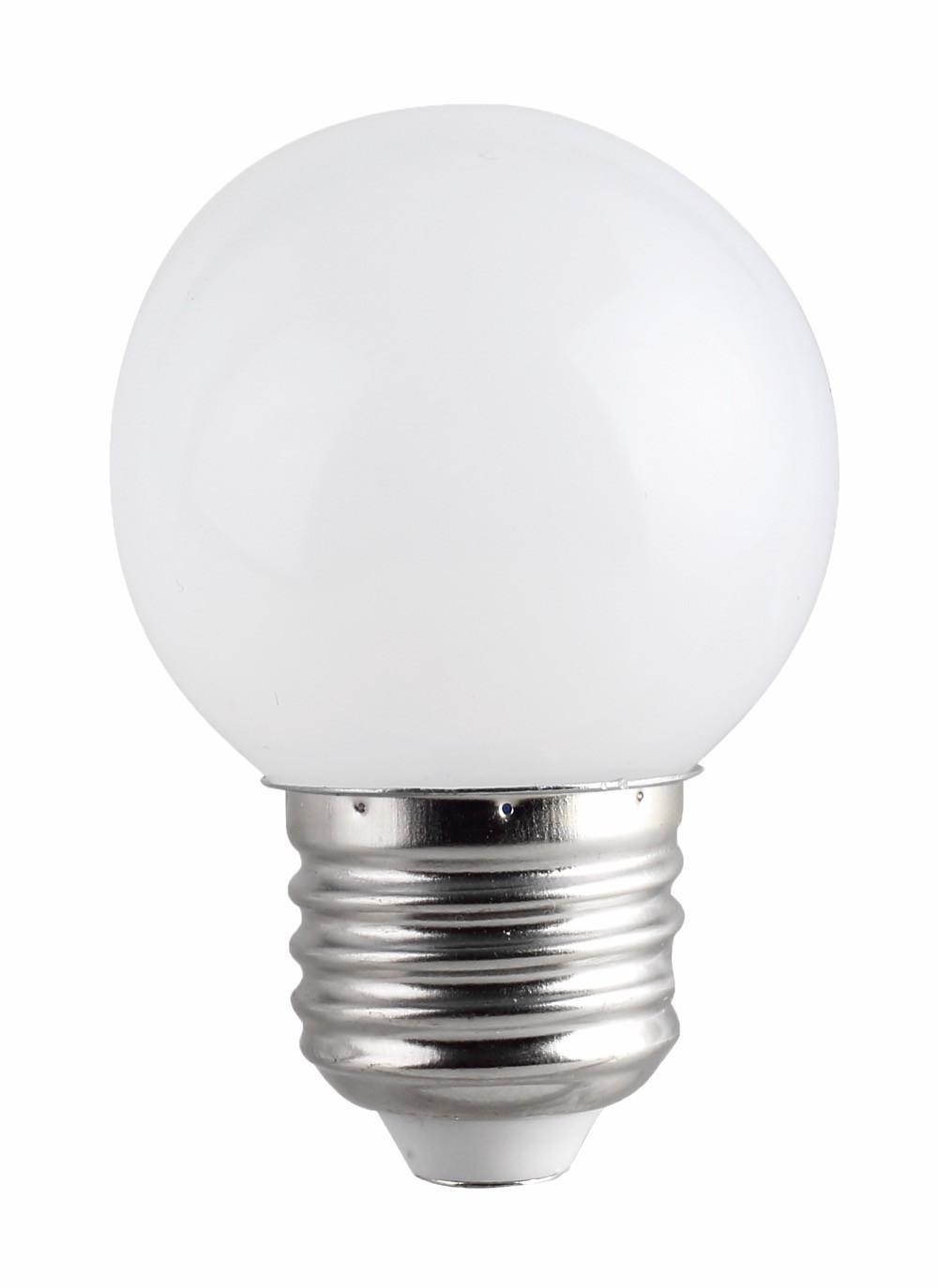 Ampoule LED 1W E27 couleur Blanche