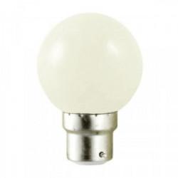Ampoule LED 1W B22 couleur Blanche de marque FOX LIGHT, référence: J4436300