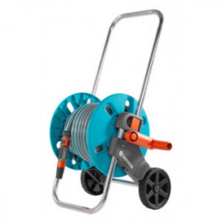 Dévidoir d'arrosage sur roues Aquaroll S - équipé non monté de marque GARDENA, référence: J4450800