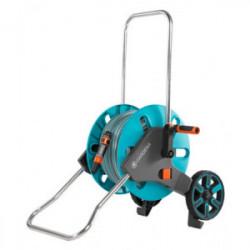 Dévidoir d'arrosage sur roues Aquaroll M - équipé et monté de marque GARDENA, référence: J4451000
