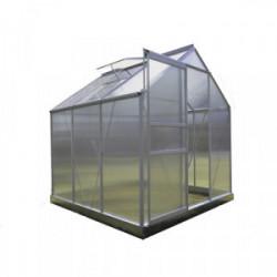 Serre Jardin Polycarbonate - DIAMANT 66 - 3,7M² - GRIS de marque CHALET & JARDIN, référence: J4457200
