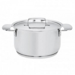 Fait-tout - All Steel +  - 18 cm/2,5L - avec couvercle de marque FISKARS, référence: B4464100