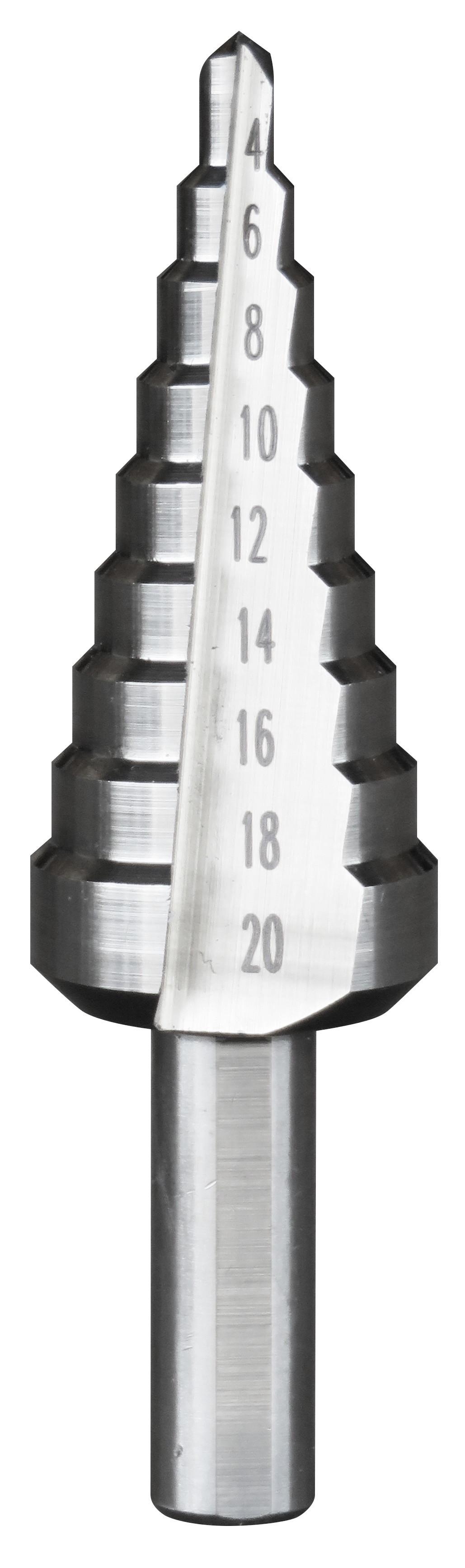 Foret conique étagé - 10 Diamètres