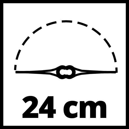 Einhell Coupe-bordures sans fil GC-CT 18//24 Li P Système Power X-C 1x1,5Ah