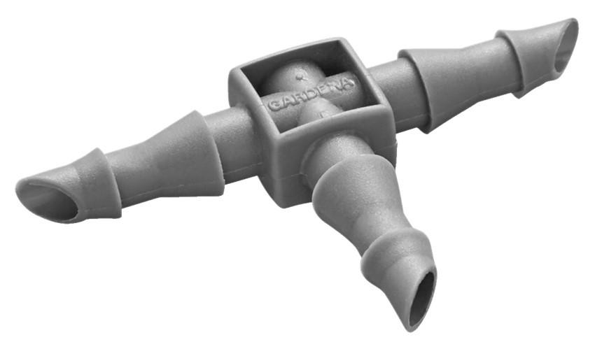 Jonction en T 4,6 mm - Par 10 - connexion \