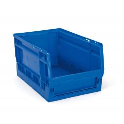 Bac de rangemement pliable bleu 15 L de marque OUTIFRANCE , référence: B4175200