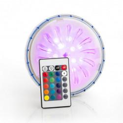 Projecteur LED couleur aimanté + télécommande piscine hors-sol de marque GRE POOLS, référence: J4554700
