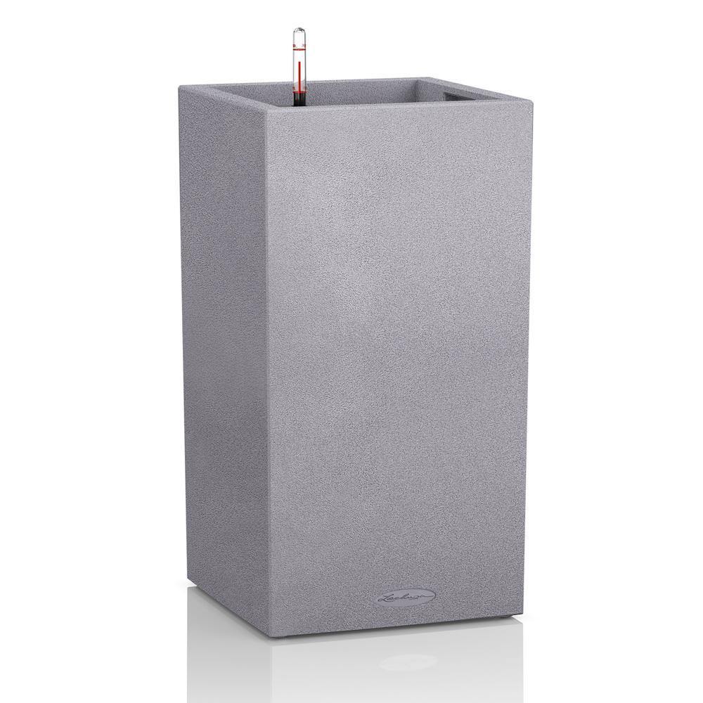 Pot Canto Color 76, gris pierre 7 L 76 cm