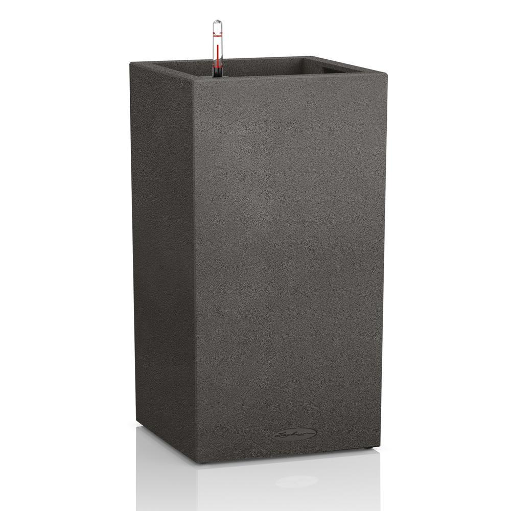 Pot Canto Color 76, noir graphite 7 L 76 cm