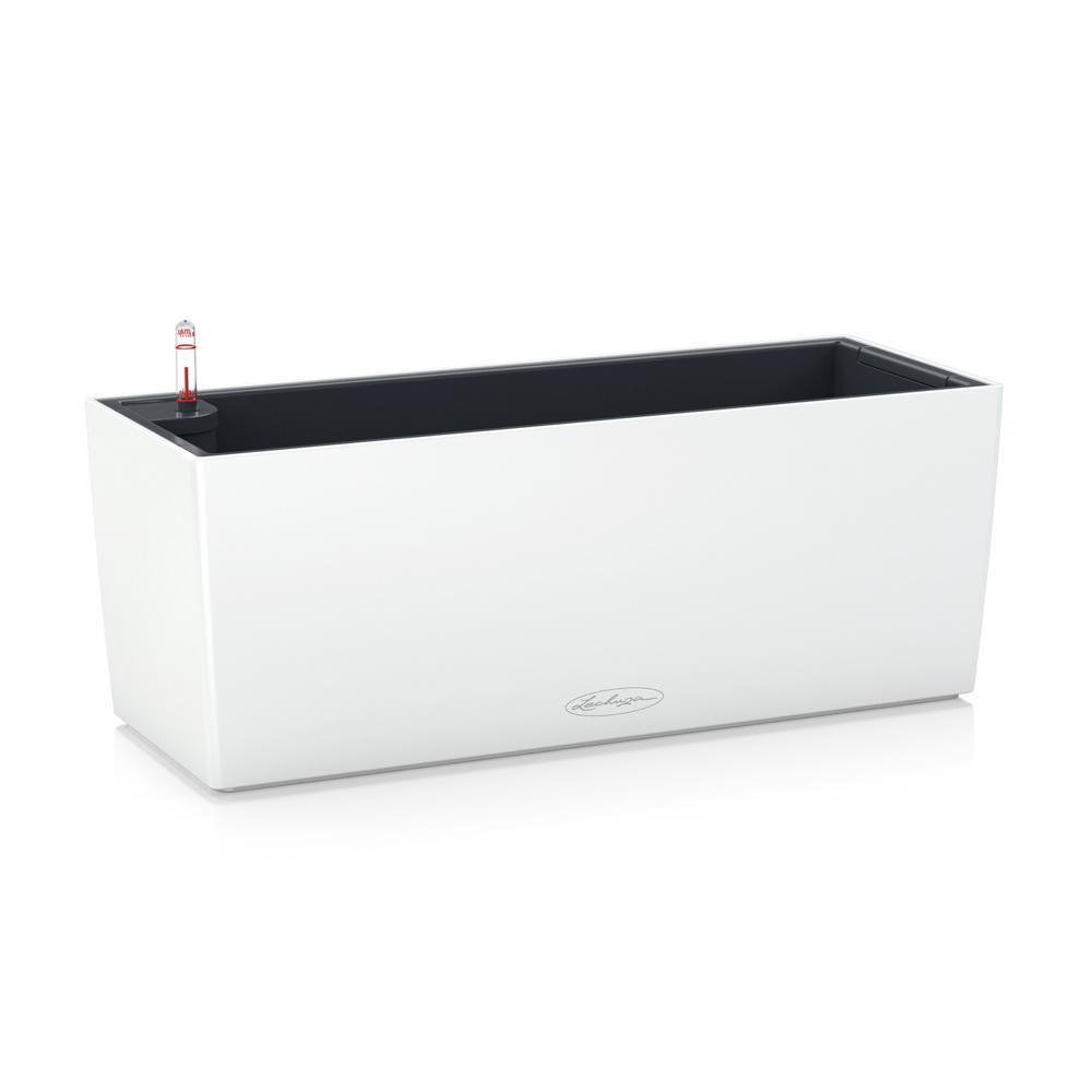 Pot Balconera Color 50 - kit complet, blanc - 50 cm
