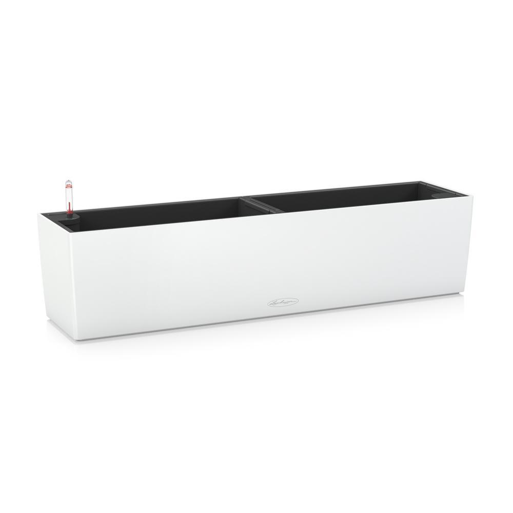 Pot Balconera Color 80 - kit complet, blanc - 80 cm