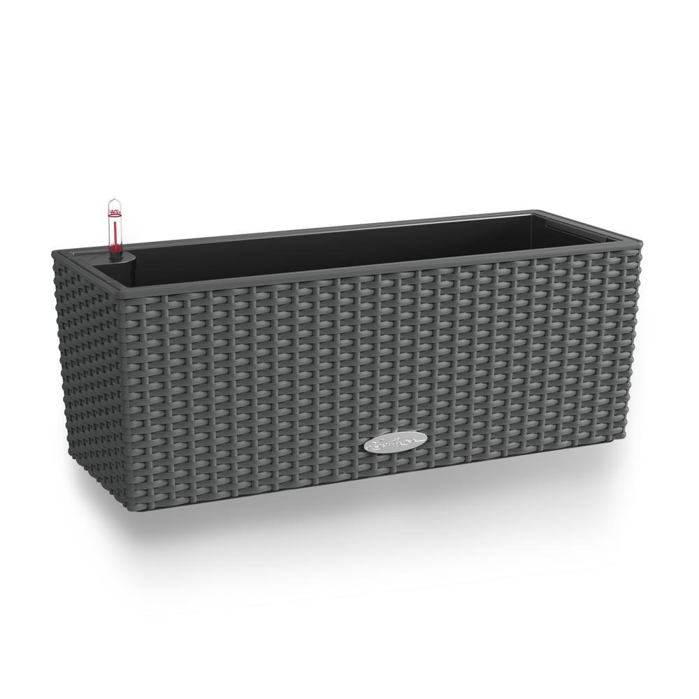 Pot Balconera Cottage 50 - kit complet, granit - 50 cm