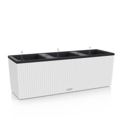 Pot Trio Cottage 40 - kit complet, blanc - 130 cm de marque LECHUZA, référence: J4581900