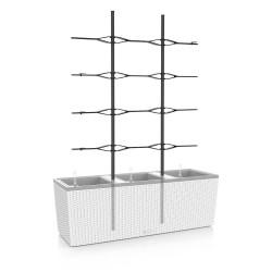 Treillis pour pot TRIO Cottage 40, noir de marque LECHUZA, référence: J4582400