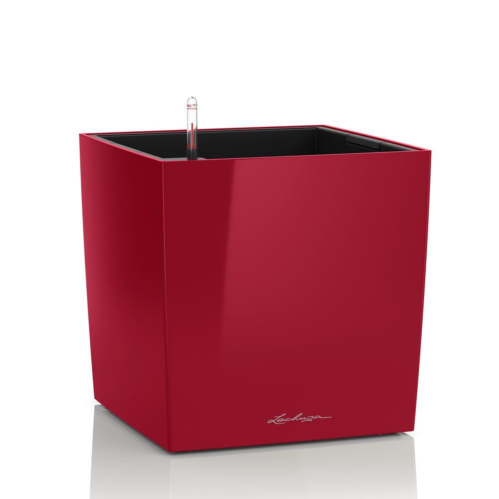 Cube Premium 50 - Kit Complet, rouge scarlet brillant 50 cm
