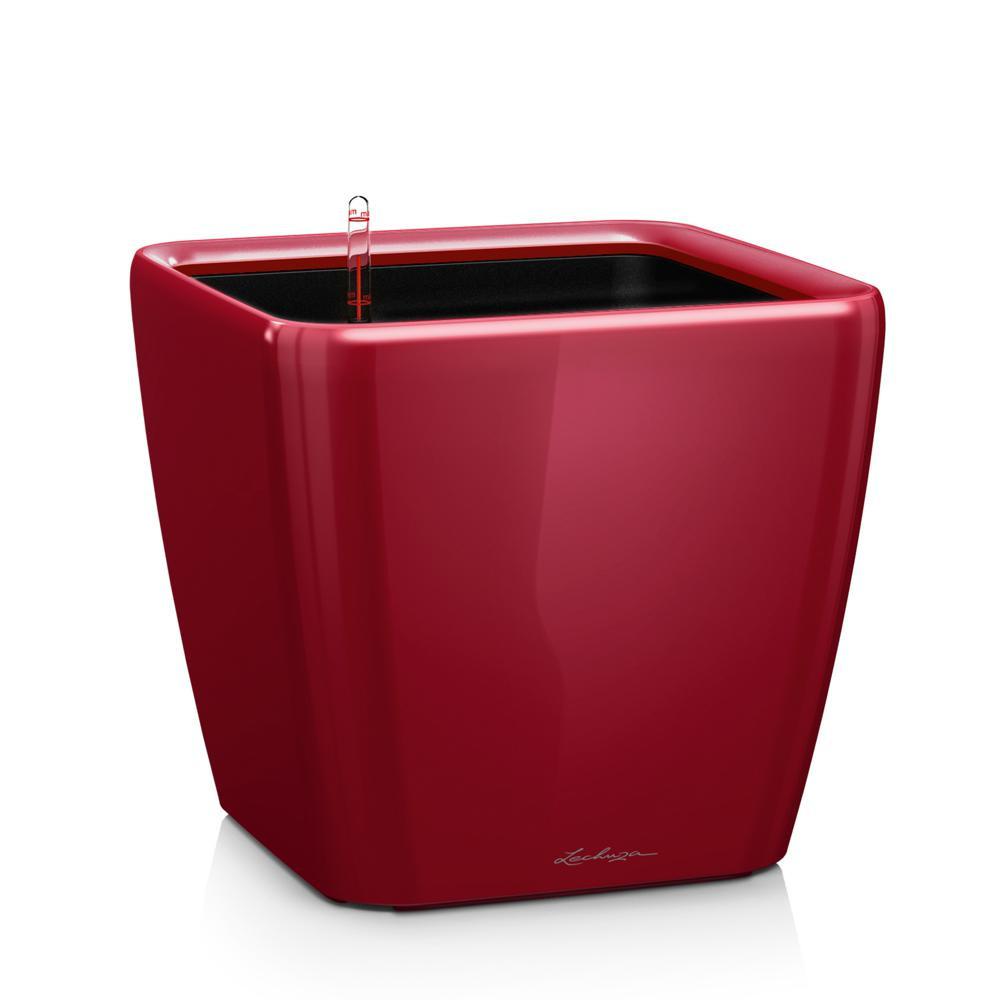 Pot Quadro Premium LS 28 - kit complet, rouge scarlet brillant 28 cm
