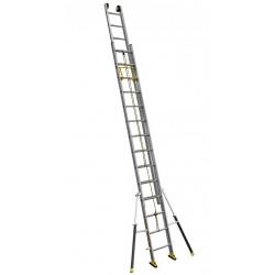 Echelle coulissante 2 plans à corde C2 STAB' 4m05/6m60 de marque CENTAURE , référence: B4628500