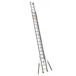 Echelle coulissante 2 plans à corde C2 STAB' 5m20/9m10 de marque CENTAURE , référence: B4628700