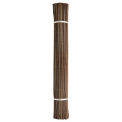 """Canisse synthétique imitation osier marron """"Fency Wick"""" 1,50 x 3 m de marque NORTENE , référence: J4661900"""