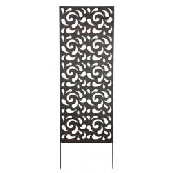 Panneau métal avec motifs décoratifs/Gouttes - 0,60 x 1,50 m - Brun de marque NORTENE , référence: J4662900