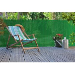 """Brise-vue extrudé d'inspiration naturelle """"Panama"""" Vert - 1,20 x 5 m de marque NORTENE , référence: J4664000"""