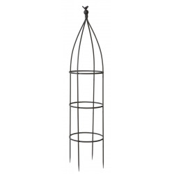 "Treillis en métal galbé ""Birdy Obelisk"" 0,35 x 1,50 m de marque NORTENE , référence: J4667000"