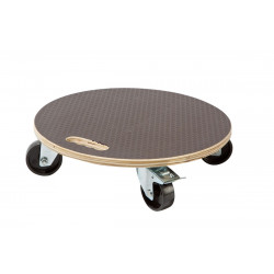 """Support à roulettes """"Flora Roll Strong"""" - 40 cm - bois très résistant de marque NORTENE , référence: J4668100"""