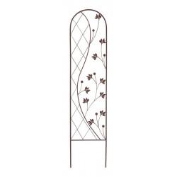 """Treillis floral zen"""" Yin and Yang"""" 0,35 x 1,50 m - Marron de marque NORTENE , référence: J4670500"""