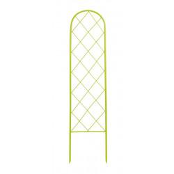"""Treillis à planter """" Classis Metal Trellis"""" - 0,42 x 1,50 m - Vert anis de marque NORTENE , référence: J4670800"""