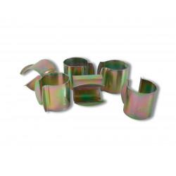 Lot de 12 clips de fixation pour serre - Diamètre 27 mm de marque NORTENE , référence: J4684600