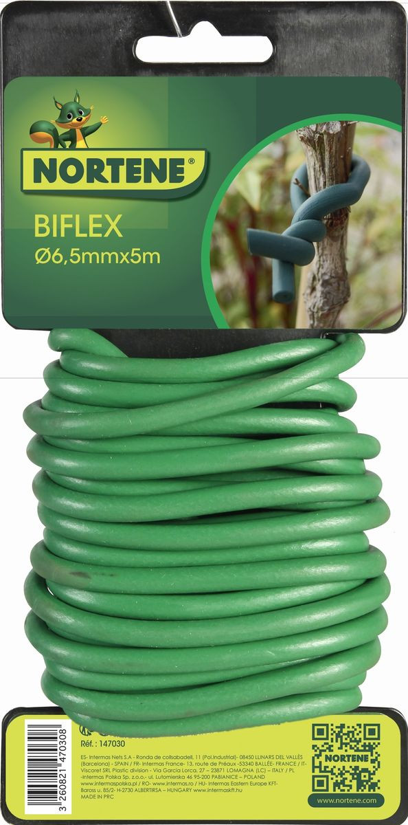 Lien mousse BIFLEX pour plantes fragiles - ø 6,5 mm