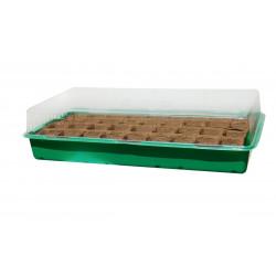 """Mini serre """"Growing Kit"""" avec plaque biodégradable - 6 x 6 cm de marque NORTENE , référence: J4685500"""