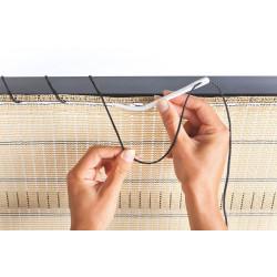 """Kit de fixation pour brise vue tissé à boutonnière """"Fixing Cord"""" de marque NORTENE , référence: J4690900"""